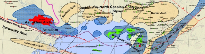 Petroleum Geology of the Precaspian Basin